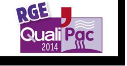 RGE Reconnu Garant Environnement Qualipac - Patrice Guillaud à Ste Pazanne près de Nantes
